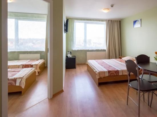 Семейный номер с 2 спальнями